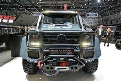 88th Geneva International Motor Show 2018 - Brabus Adventure 4x4 stock photography