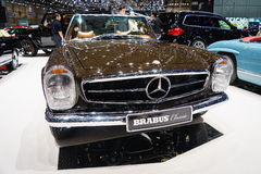 Brabus Classic's, Motor Show Geneve 2015 Royalty Free Stock Images