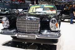 Brabus Classic's, Motor Show Geneve 2015. Brabus Classic's Mercedes Benz at the 85th International Geneva Motor Show in Palexpo, Switzerland Royalty Free Stock Photography