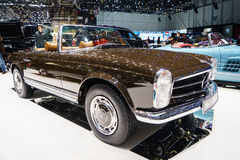 Brabus Classic's, Motor Show Geneve 2015 Stock Photo