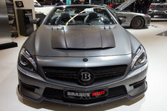 Brabus 800 Mercedes Benz SL 65 AMG Royalty Free Stock Photo