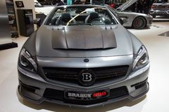 Brabus 800 Mercedes Benz SL 65 AMG sports car Stock Photography