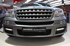 Brabus ML 63 BiTurbo based on Merced Benz ML-Cla Royalty Free Stock Images