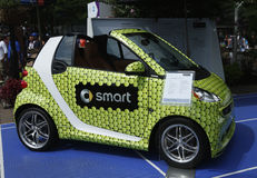 Brabus Smart car on display at Billie Jean King National Tennis Center during US Open 2013 Royalty Free Stock Photo