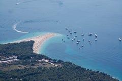 brac Хорватия стоковое изображение rf