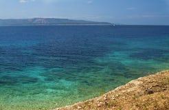 Brac Insel, Bol Ansicht von Kroatien lizenzfreie stockbilder