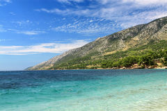 Brac Island, Bol view from Croatia Stock Photo