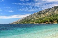Brac Island, Bol view from Croatia Stock Photo