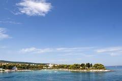 brac wyspy supetar miasteczko zdjęcie stock