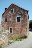 bracbyggnad gammala croatia Royaltyfri Bild