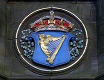 Braccia reali dell'Irlanda Fotografie Stock Libere da Diritti
