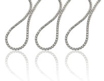 Braccialetti dei diamanti Fotografia Stock