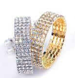 Braccialetti del diamante Fotografie Stock Libere da Diritti
