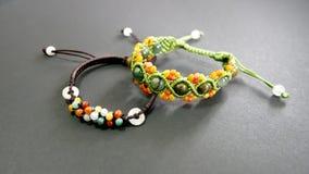 Braccialetti della perla Fotografie Stock