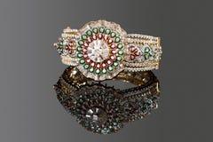 Braccialetto del diamante Immagine Stock