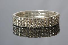 Braccialetto del diamante Fotografie Stock