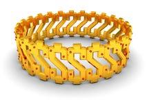 Braccialetto del dollaro Fotografie Stock