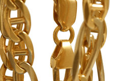 Braccialetto dell'oro Fotografie Stock