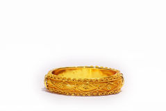 Braccialetto dell'oro Immagine Stock Libera da Diritti