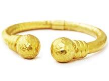 Braccialetto dell'oro Fotografie Stock Libere da Diritti