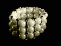 Braccialetto della perla Fotografie Stock