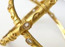 Braccialetto III dell'oro fotografie stock libere da diritti