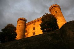 Bracciano castle Stock Photography