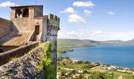 Free Bracciano Castle Lake Rome Outskirt Travel Italy Stock Photos - 72259433