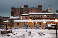 Bracciano castle. At winter time Stock Photography