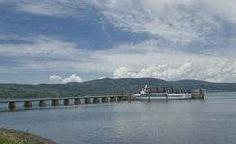 bracciano Italy jezioro Lazio Fotografia Stock
