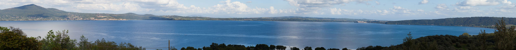 Bracciano Lake Royalty Free Stock Images