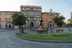 Bracciano, Lazio, Włochy obrazy stock