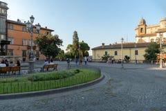 Bracciano, Lazio, Włochy obrazy royalty free