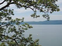 Bracciano sjö Fotografering för Bildbyråer