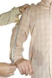Braccio adattato di shirtmeasure Fotografia Stock