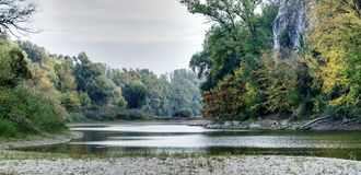 Braccio dei ciechi del Danubio fotografia stock libera da diritti