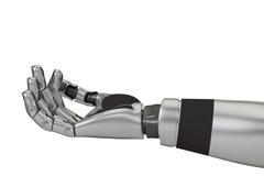 Braccio del robot Immagine Stock