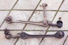 Braccio di sospensione utilizzato per un'automobile classica fotografia stock libera da diritti