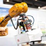 Braccio robot Fotografia Stock Libera da Diritti