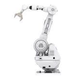 Braccio robot fotografie stock