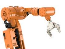 Braccio robot Immagine Stock Libera da Diritti