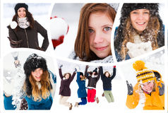 Brace yourselves winter is coming Royalty Free Stock Images