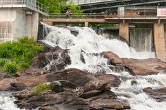 Free Bracebridge Hydro Falls Stock Images - 90937254