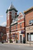 Bracebridge zegarowy wierza centre Ontario Canada zdjęcia stock