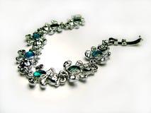 Bracelet. Isolated white background royalty free stock image