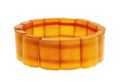 Bracelet from amber Stock Photography