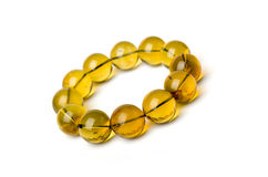 Bracelet ambre Photo libre de droits
