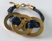 Bracelet avec des cercles Photo stock