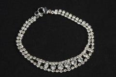 Bracelet avec des diamants Photos libres de droits