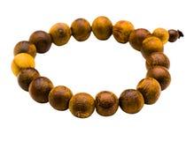 Bracelet of beads Stock Images